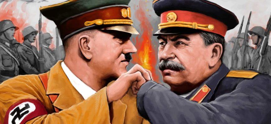 Гитлер против Сталина
