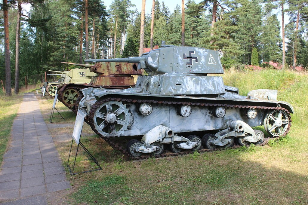 Немецкий трофейный т-26