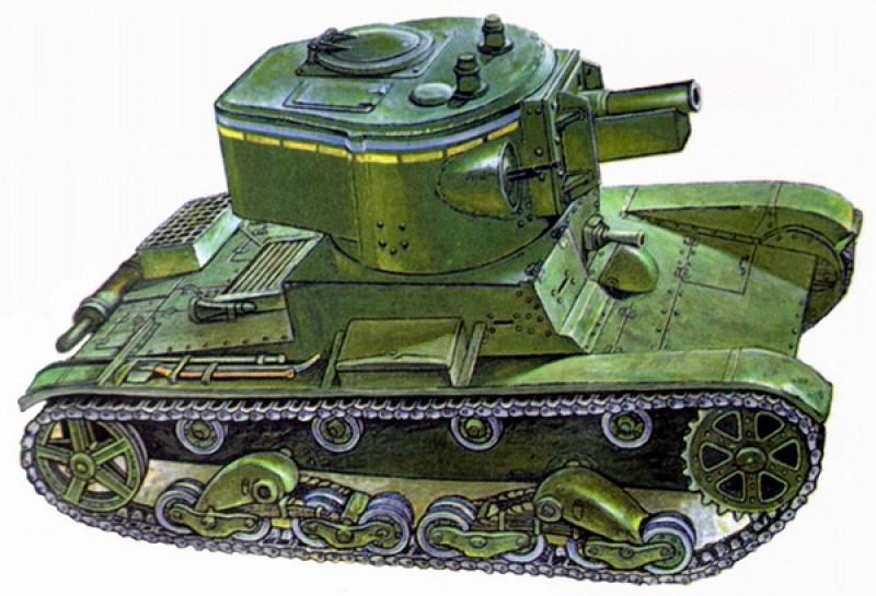 Т-26М – машина огневой поддержки;