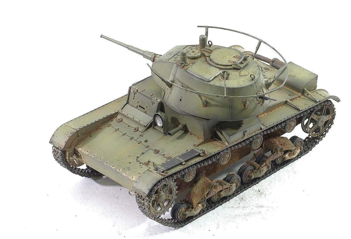 Модель танка Т-26 однобашенный танк
