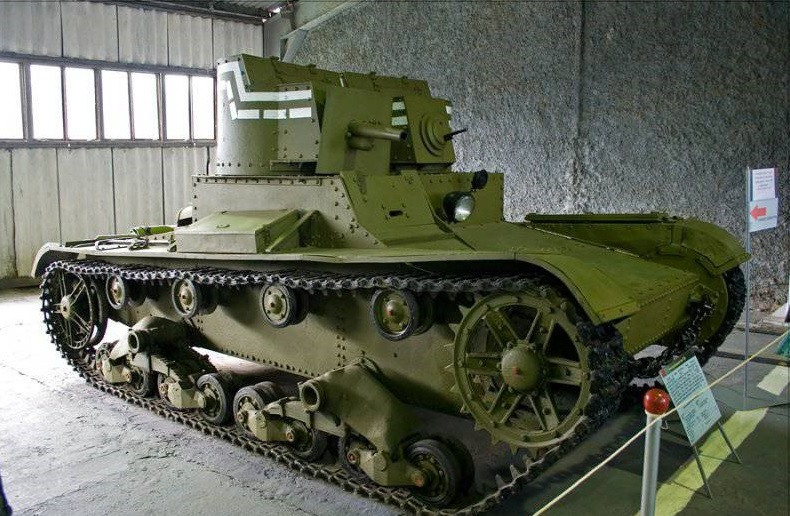 Т-26 в Кубинском музее