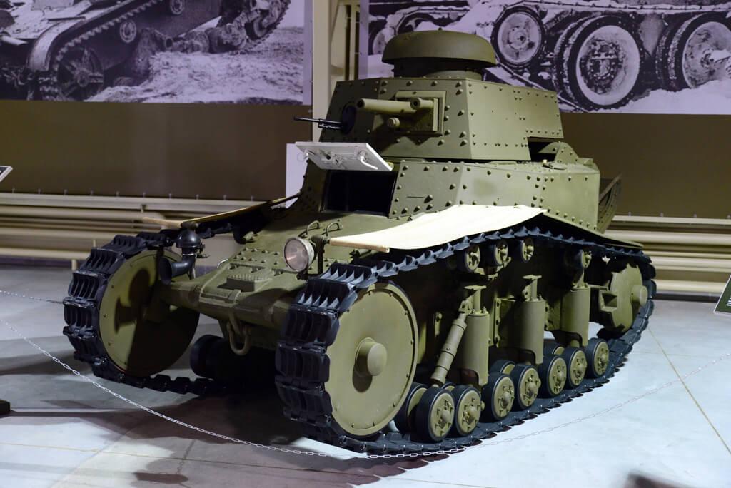 танк т 18 в музее военной истории