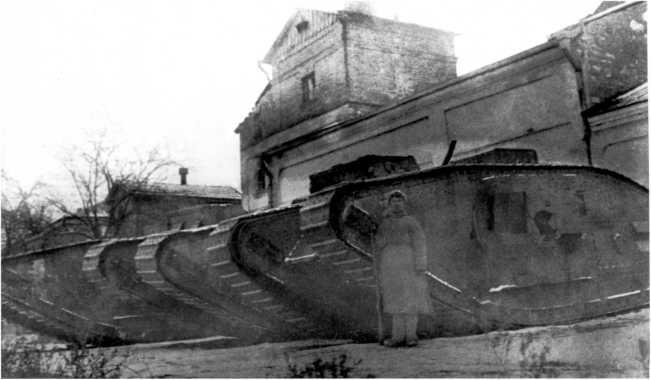 танки фото начала 20 века