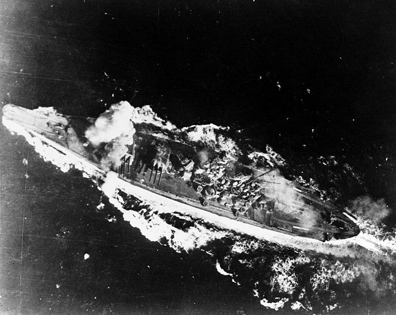 «Ямато» в море Сибуян. 24 октября 1944 года