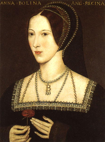 Мать Елизаветы I Анна Болейн