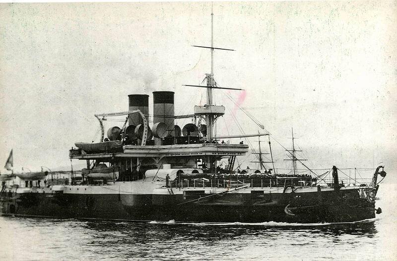 Броненосный корабль Чесма.