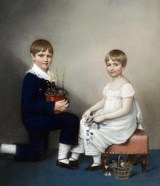 Чарльз и Кэтрин Дарвин, 1816,