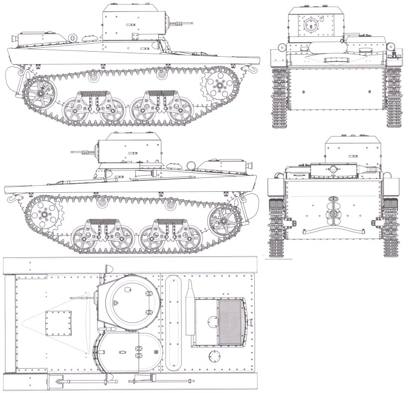 Т-37А – первый плавающий танк СССР