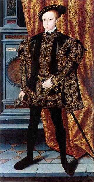 Эдуард VI — единокровный брат Елизаветы