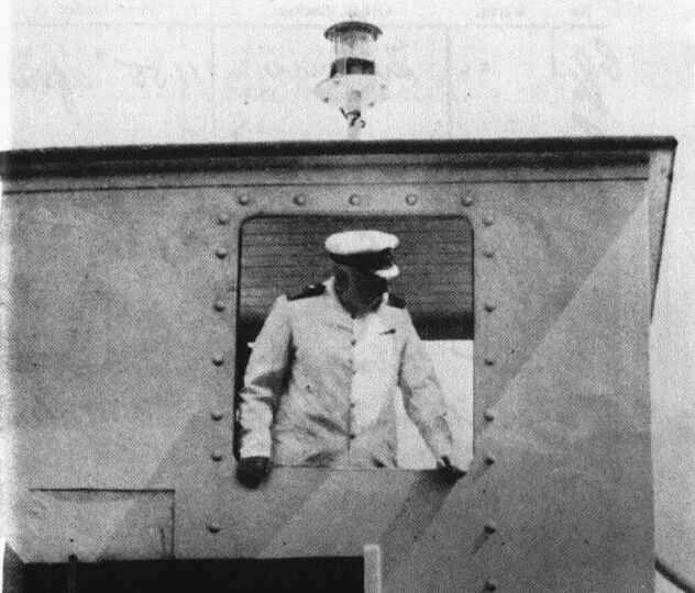 Эдвард Смит на корабле