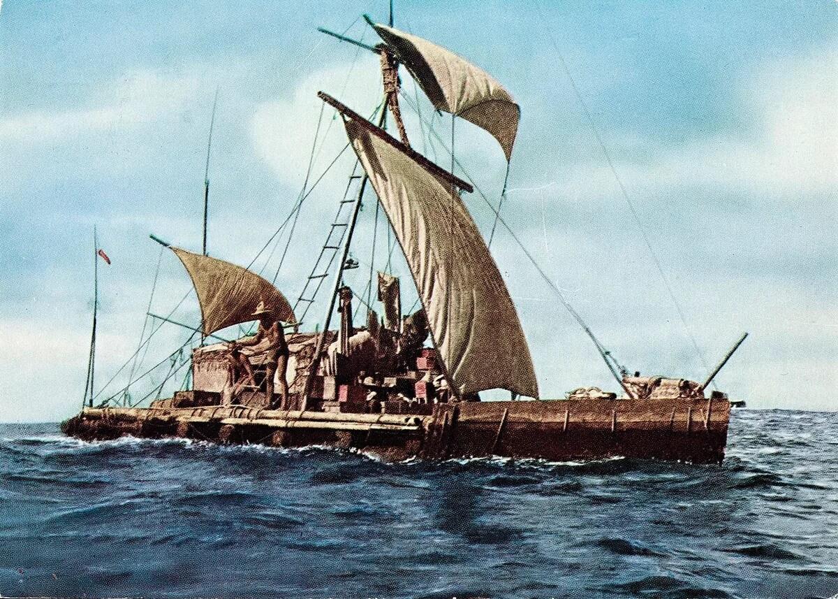 Экспедиция Кон-Тики, 1947 год