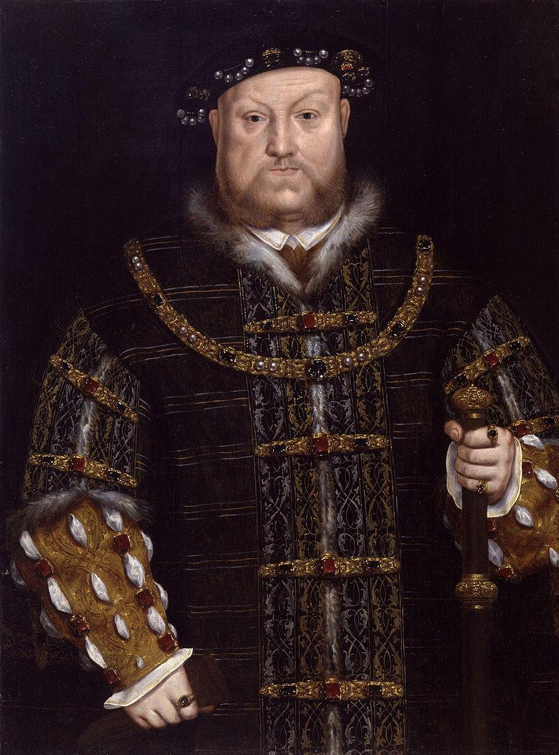 Отец Елизаветы Генрих VIII