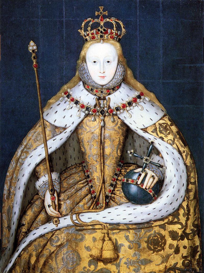 Коронационный портрет Елизаветы I