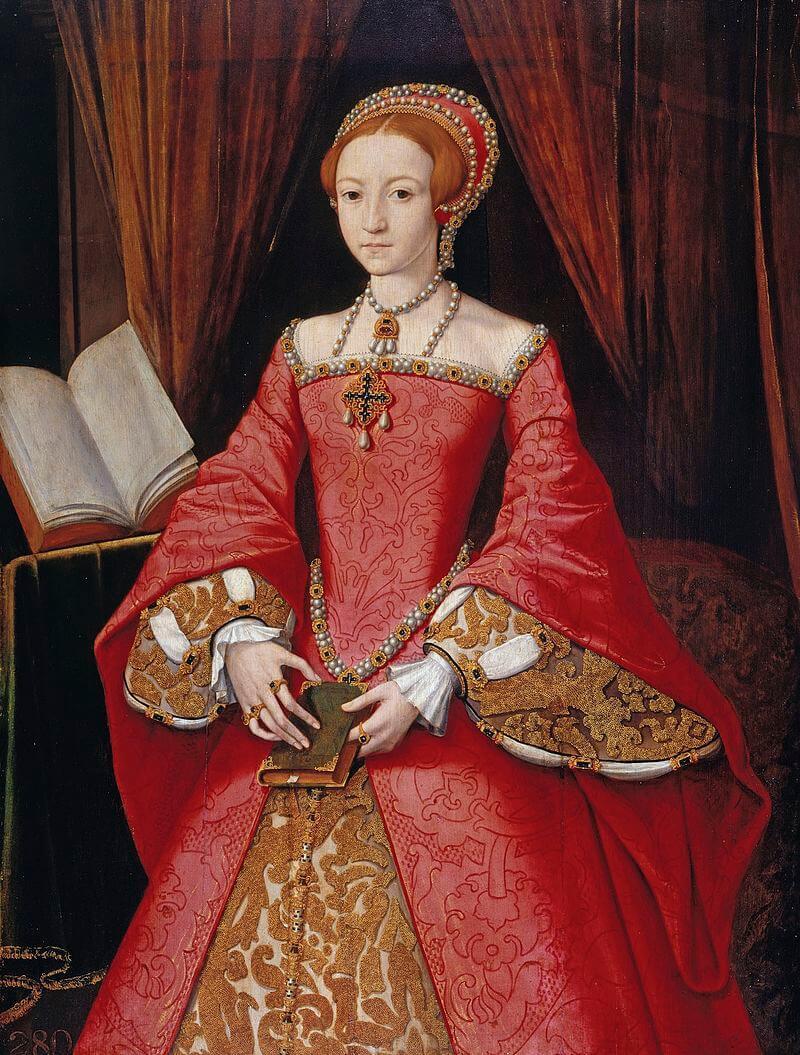Леди Елизавета в 1546 году Виндзорский замок