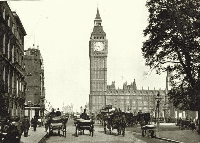 Лондон 1890