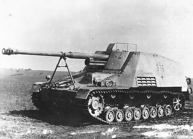 Насхорн - боевой «Носорог» Панцервафе