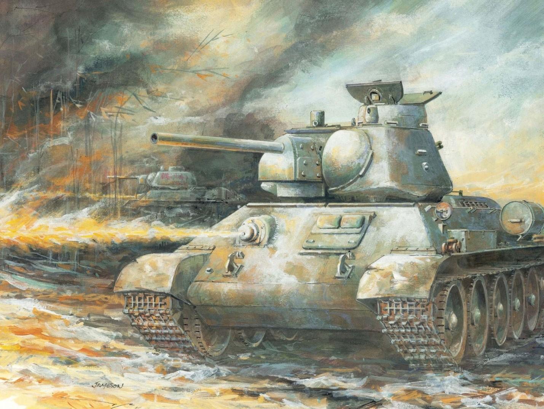Огнемётный танк ОТ-34