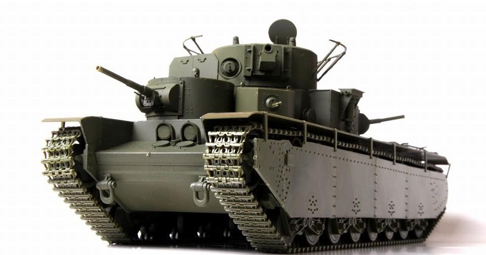 Первый серийный тяжёлый танк Т-35
