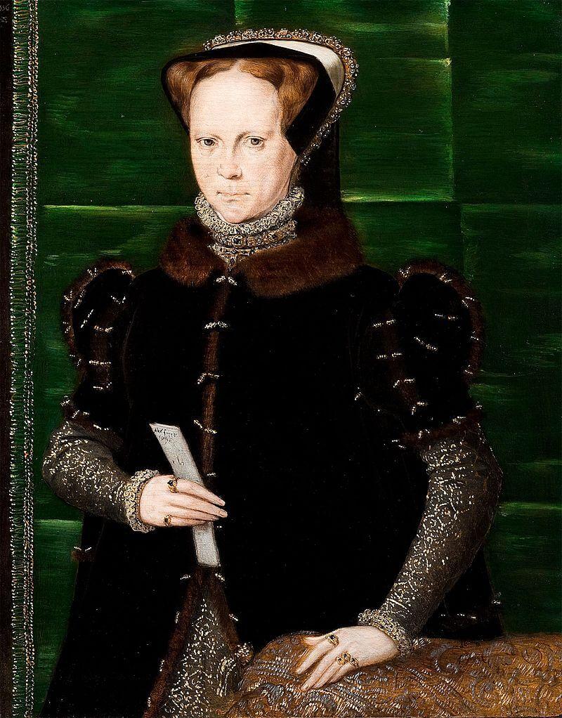 Портрет Марии I работы Ганса Эворта