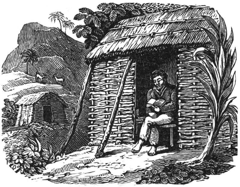 Селкирк читает свою Библию