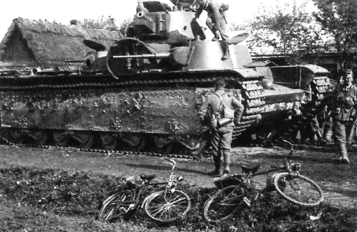 Сломанный Т-35
