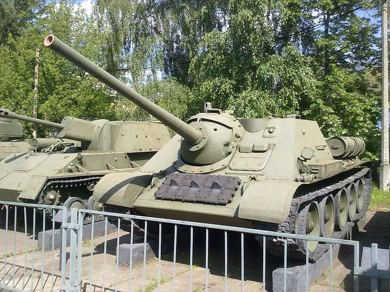 СУ-85 в Центральном музее вооружённых сил (г. Москва)