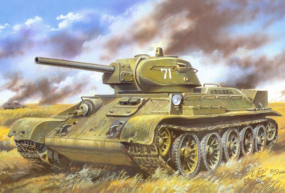 т-34 танк ссср