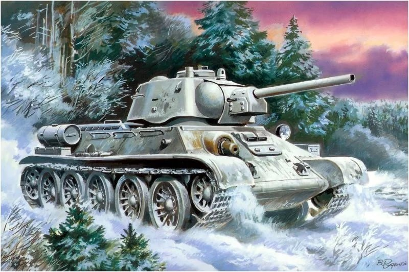 Танк ОТ-34