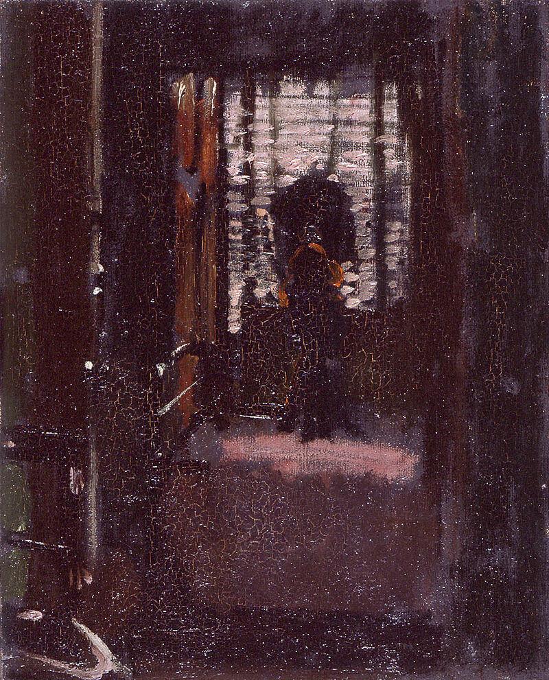 Уолтер Сикерт. Спальня Джека-потрошителя, 1908