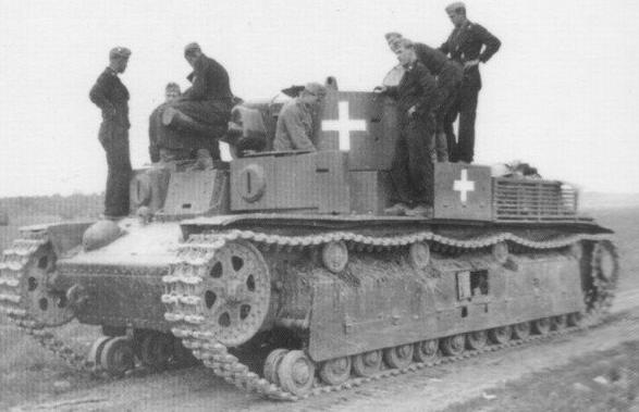 Захваченный Финнами Т-28