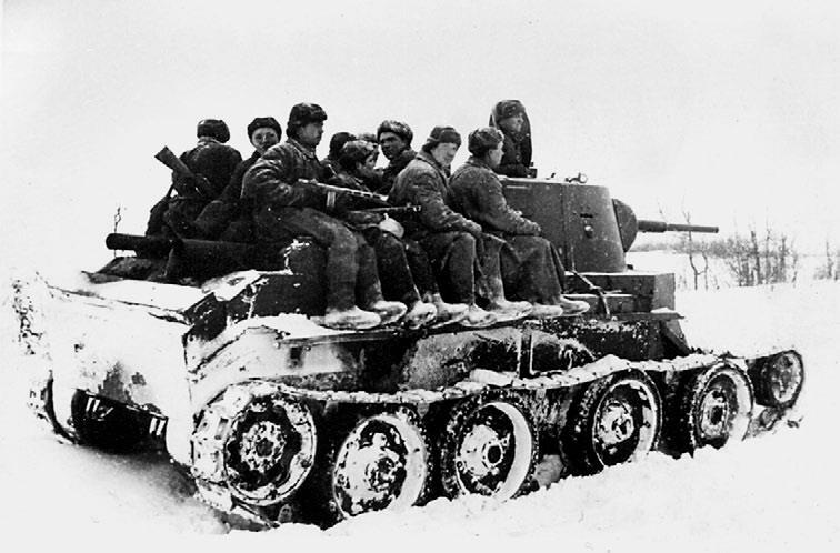 """Западный фронт, 17 ноября 1941г"""""""