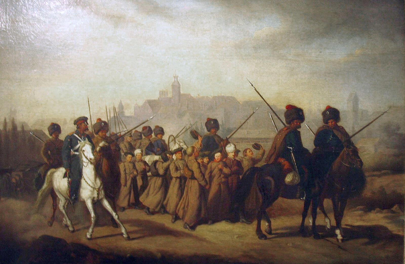 Александр Сохачевский «Призыв поляков в российскую армию в 1863 году»