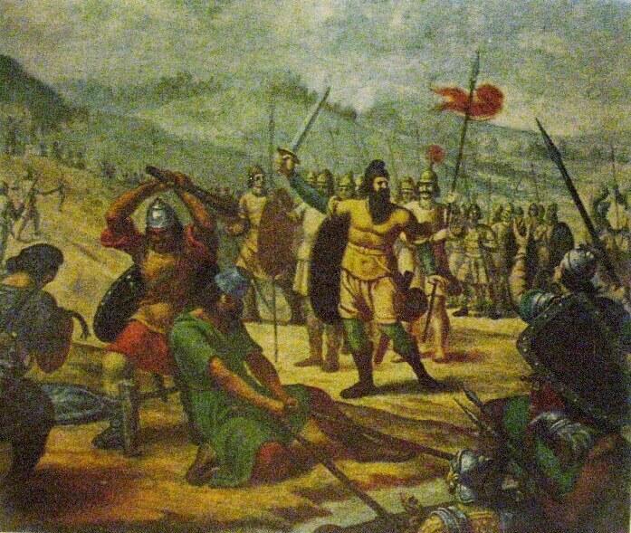 Аспарух пересекает Дунай и поселяется в Мезии, Автор Николай Павлович