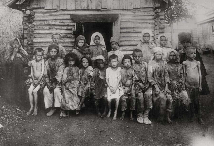 Дети голодомора.