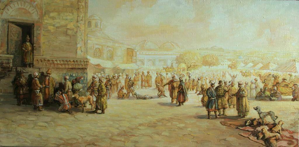 Есенгали Садырбаев «Древний город Кедер»
