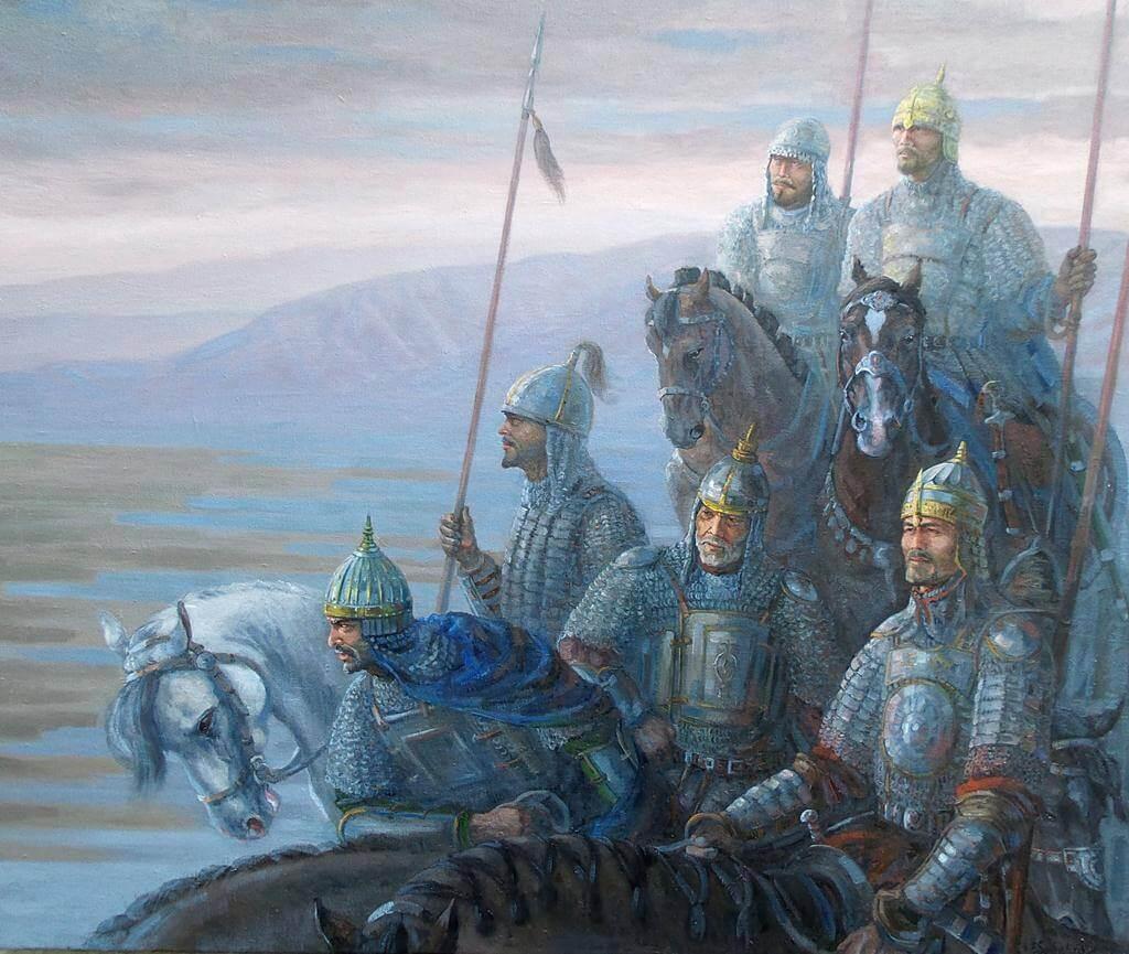 Есенгали Садырбаев «На охране рубежей»