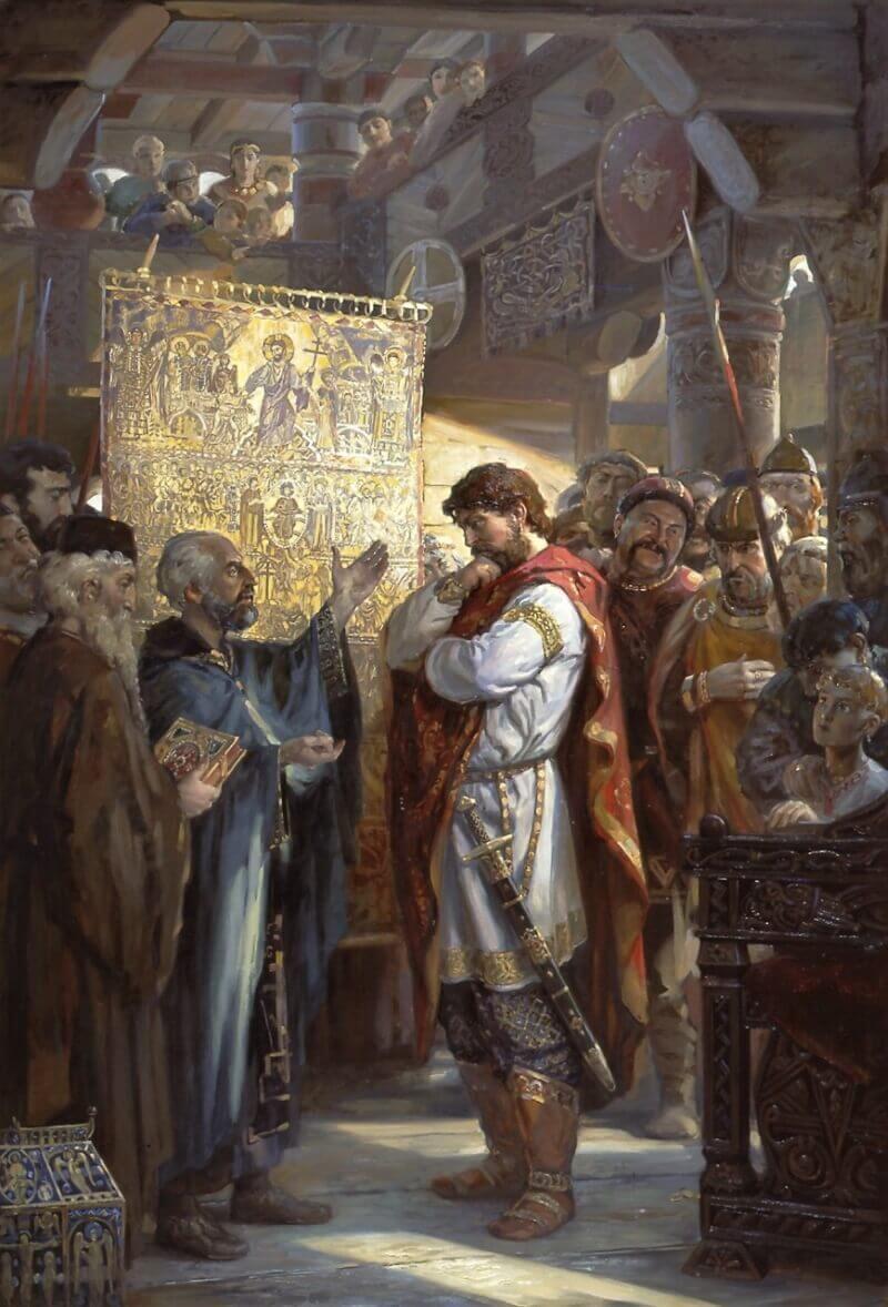 Филатов А.Ю. «Выбор веры князем Владимиром»