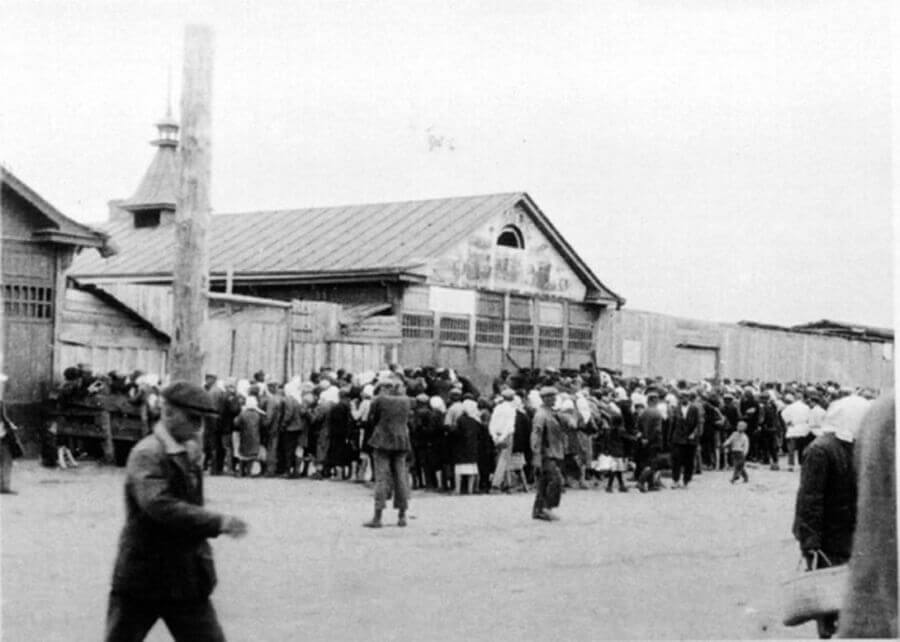 Фото времен Великого голода на Украине 1932 г.