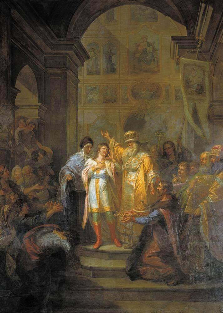 Г. И. Угрюмов. «Призвание Михаила Фёдоровича на царство»