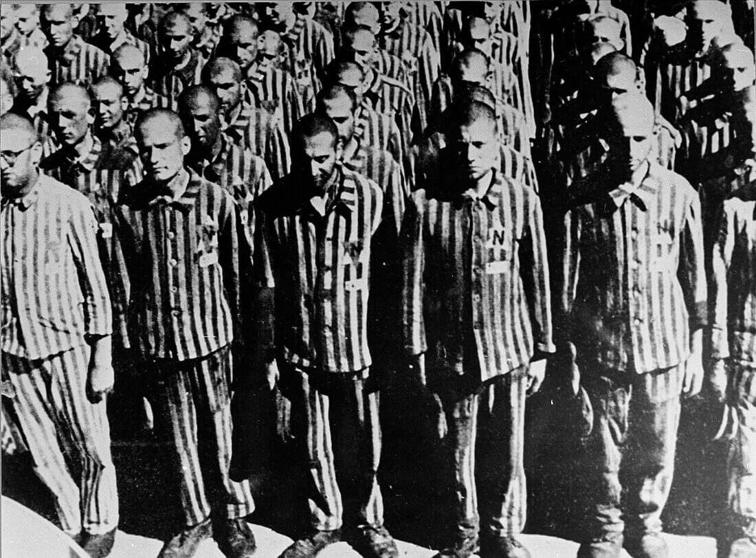 Голландские евреи — заключённые концлагеря Бухенвальд
