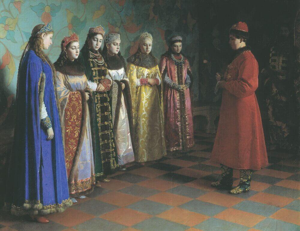 Григорий Седов «Выбор невесты царем Алексеем Михайловичем»