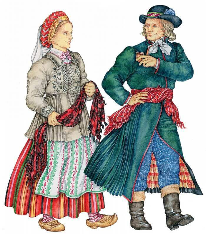 Литовцы иллюстрация