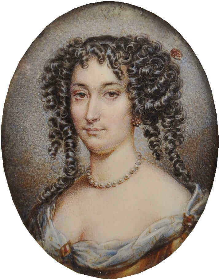 Миниатюрный портрет Марион Делорм