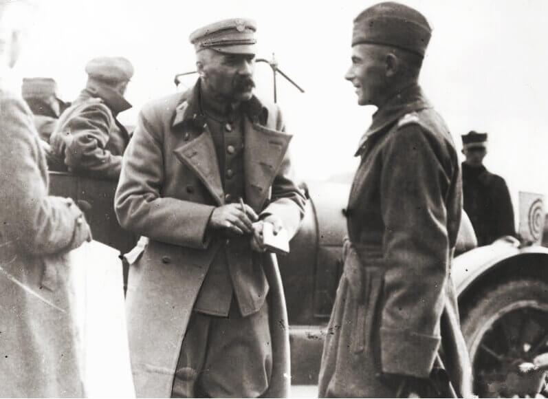 Пилсудский и Рыдз-Смиглы. 1920 год