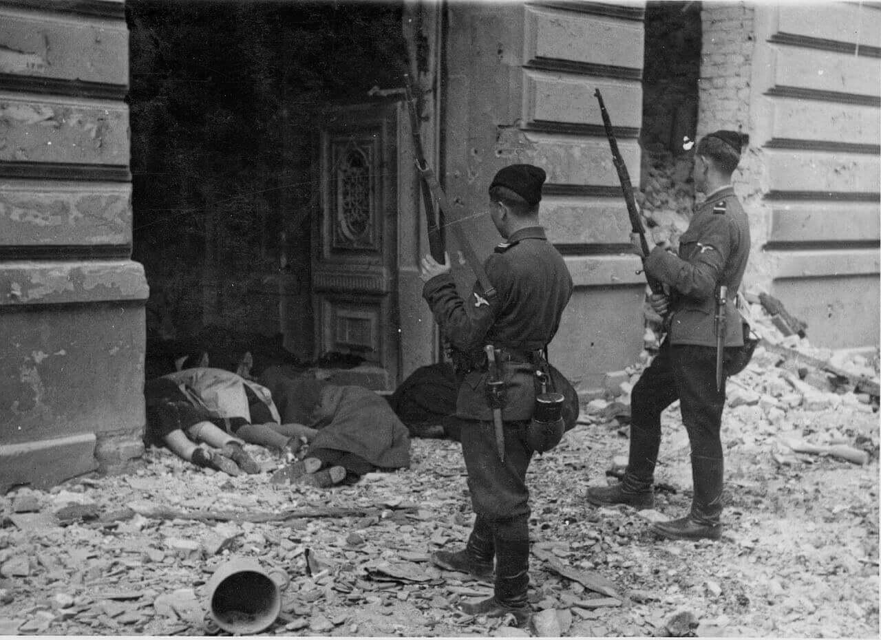 Подавление восстания в Варшавском гетто
