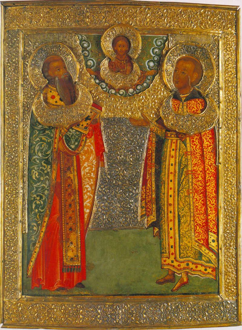 Священномученик Василий Анкирский и царевич Василий Михайлович
