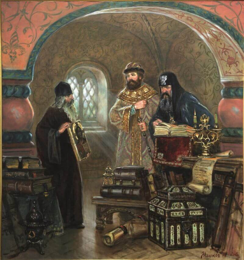Царь Алексей Михайлович и Патриарх Никон