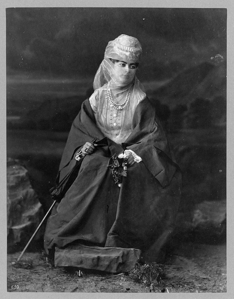 Турчанка, между 1880 и 1900 г.