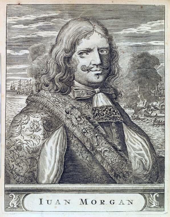 Валлийский пират Генри Морган.