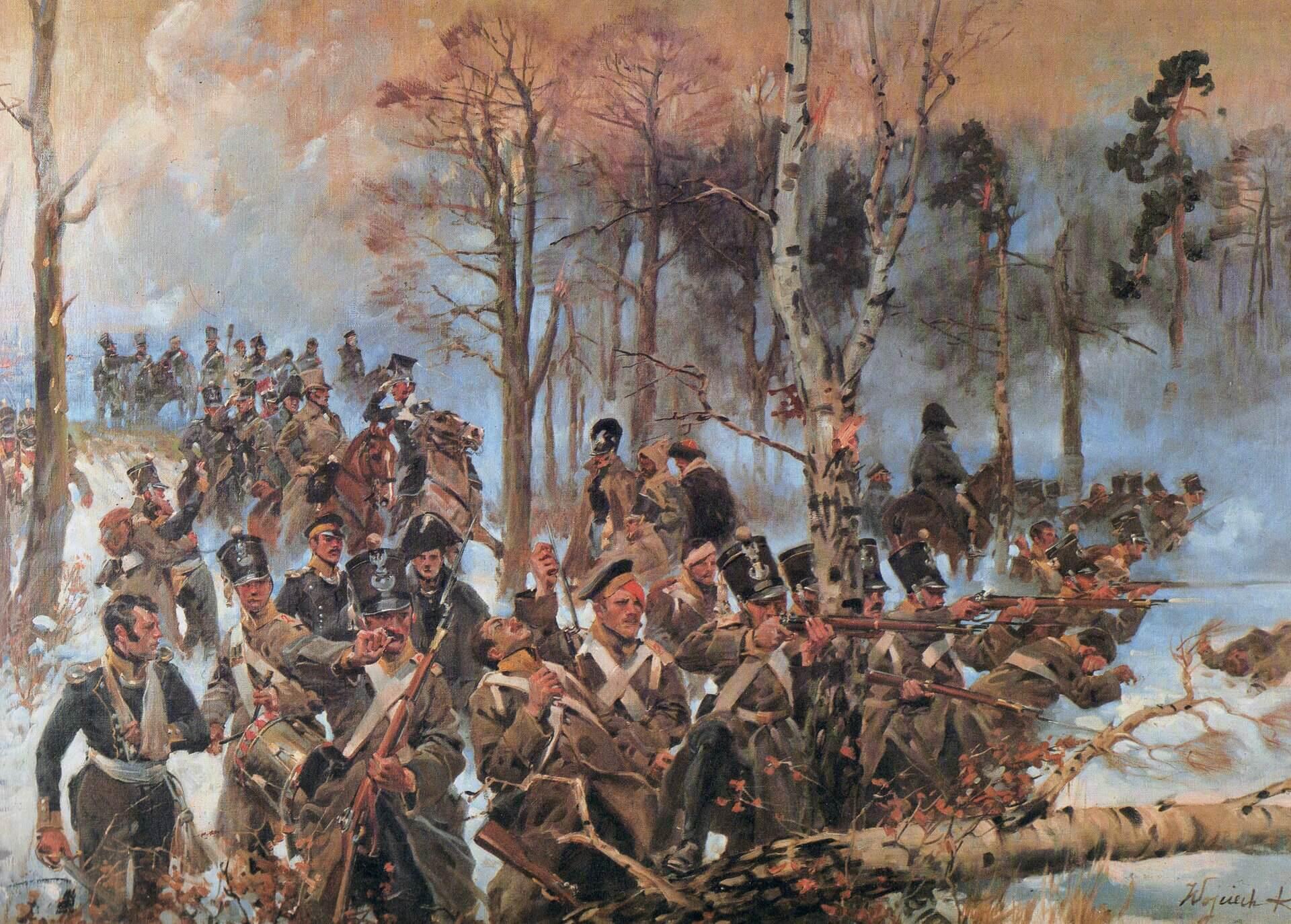 Войцех Коссак «Сражение при Грохове»